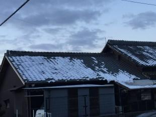 落雪を防ぐには(雪止め)