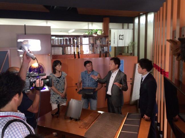 中京テレビの夕方の情報番組「キャッチ」の取材を受けました